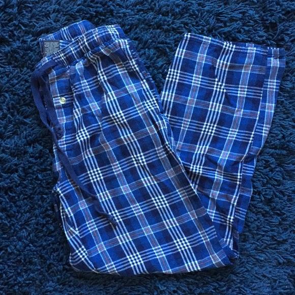 St. John's Bay Other - St. John's Bay Blue Plaid Flannel PJ Pants